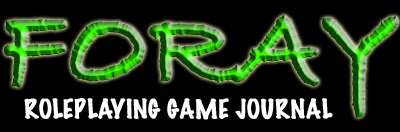 FORAY Roleplaying Game Journal